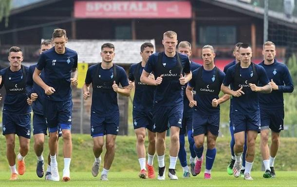 Динамо проведе два спаринги в Києві