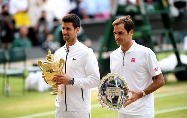 Джокович переиграл Федерера в пятичасовом финале Уимблдона