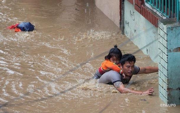 Наводнение в Непале: число жертв удвоилось