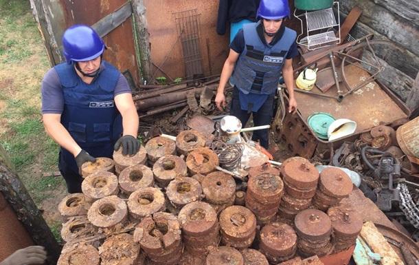 Сотни боеприпасов найдены в доме, где подорвались двое детей