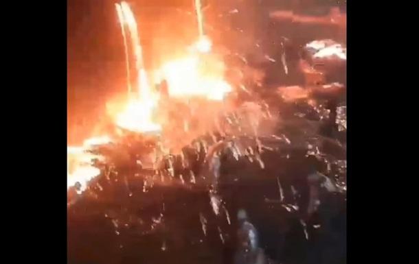 У цеху розлилися тисячі тонн розплавленого чавуну