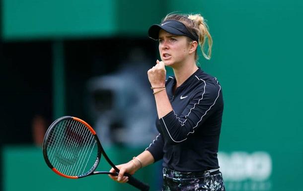 Рейтинг WTA: Свитолина поднялась на одну позицию, Халеп - четвертая