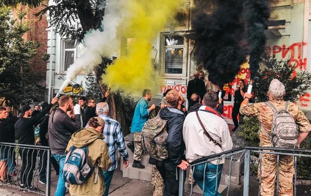 У центрі Києва напали на офіс лотереї МСЛ