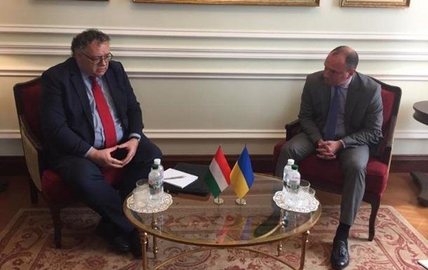 Україна звернулася до Угорщини через вибори