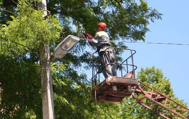 Электроснабжение Кривого Рога полностью восстановлено после урагана
