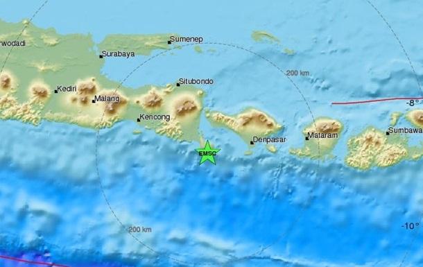 Біля острова Балі стався сильний землетрус