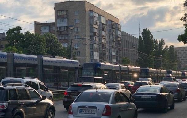 Киев теряет конкурентоспособность из-за заторов