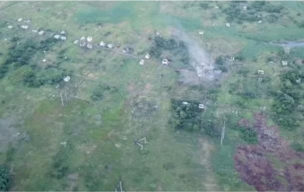 Волонтер показав знищення позицій сепаратистів