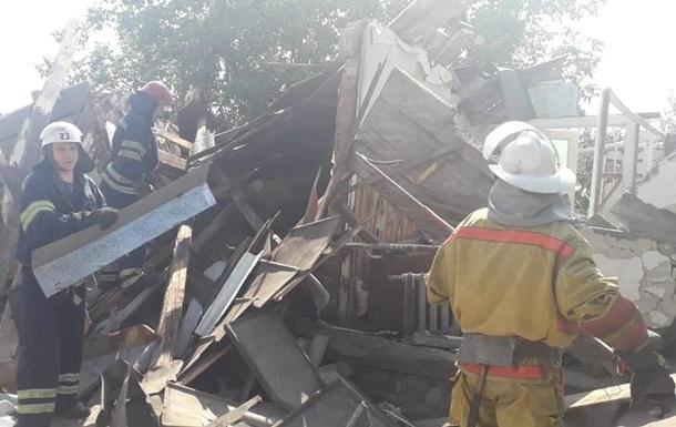 Под Киевом взрыв разрушил жилой дом, есть жертвы