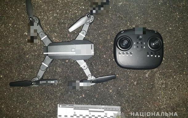 У Києві дрон намагався доправити в СІЗО наркотики