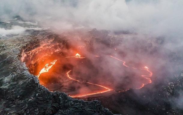 Извержение супервулкана может повредить озоновый слой Земли