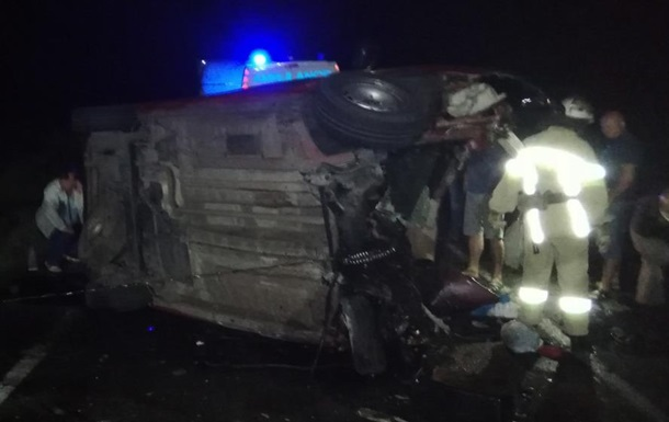 При ДТП в Николаевской области погиб мужчина и двое его детей