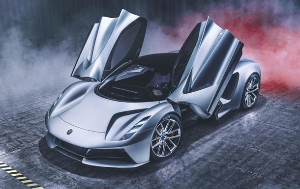 Компания Lotus выпустит мощнейший на рынке электрокар