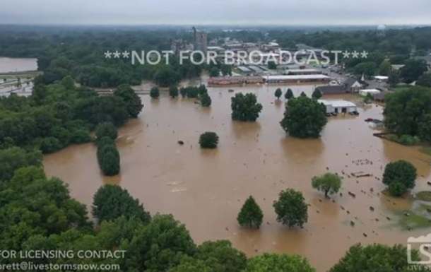 Шторм Барри вызвал наводнение в США