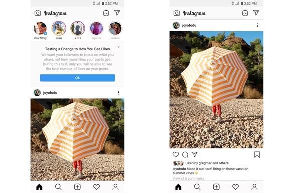 Instagram масово відключає лічильник лайків