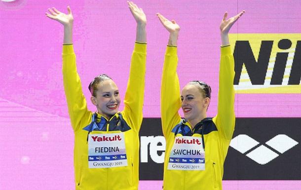 Синхронистки Савчук и Федина выиграли еще одну бронзу чемпионата мира