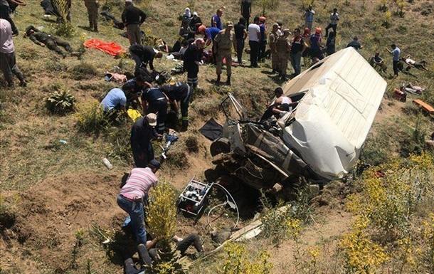 У Туреччині нелегальні мігранти потрапили в ДТП: 15 жертв
