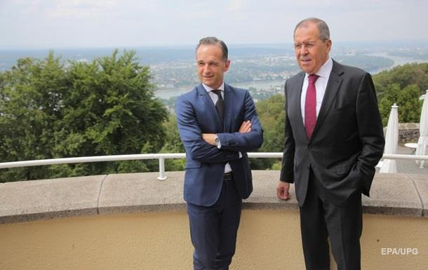 Главы МИД России и Германии обсудили Украину
