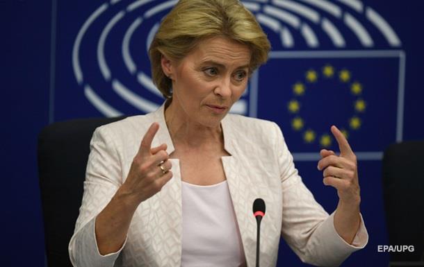 Нова глава ЄК закликала зберігати санкції проти Росії