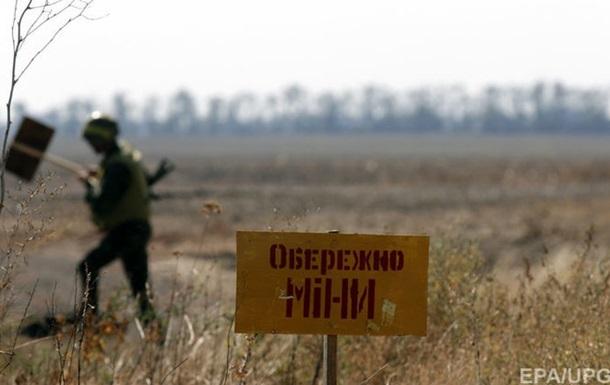 На Донбассе военный подорвался на мине
