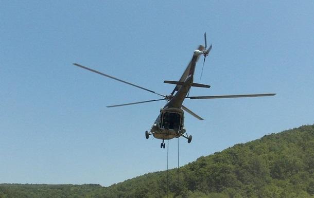Военный вертолет разбился в Сербии