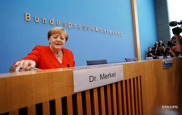 Меркель прокоментувала напади тремтіння