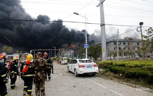 У Китаї на фабриці стався вибух