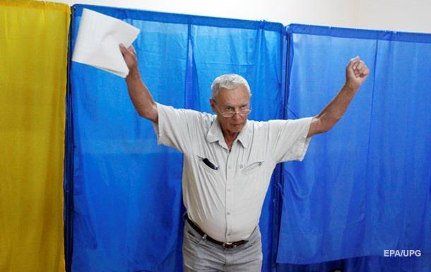 Украинцы завершили голосование на первом зарубежном участке