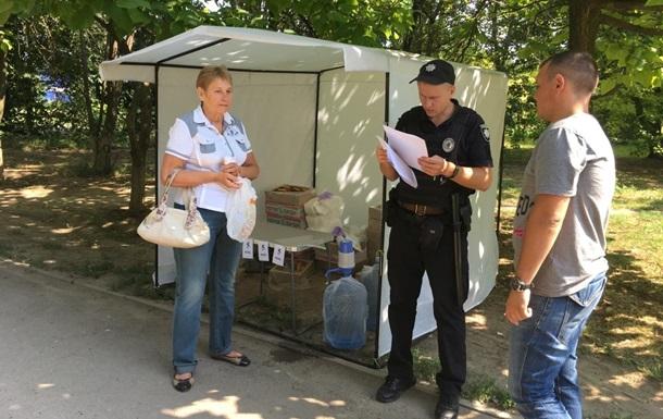 Пирожки по 5 копеек продавали возле избирательных участков в Днепре