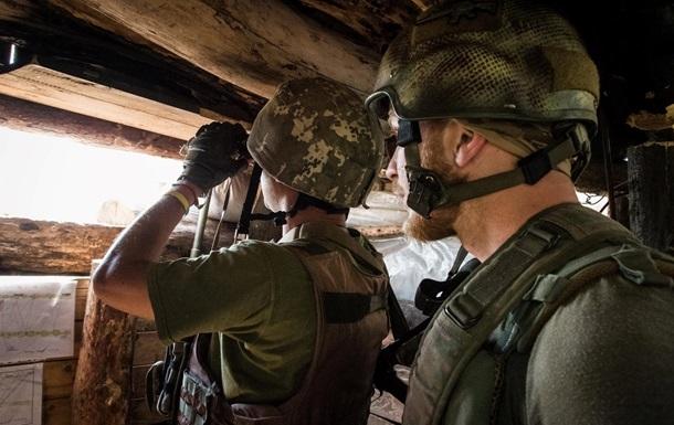 На Донбассе за сутки один обстрел – штаб ООС