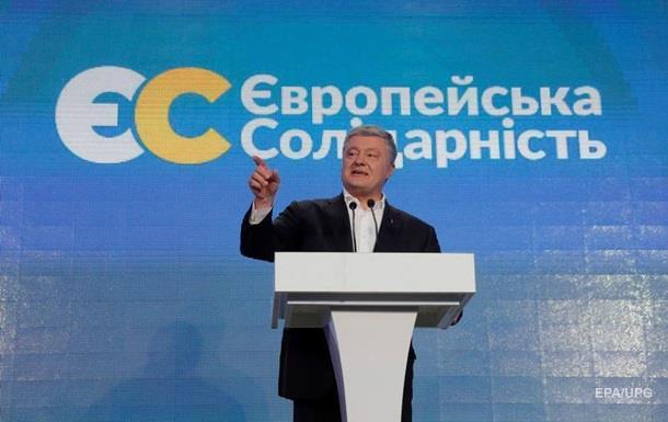 Партія Порошенка перемогла на виборах за кордоном