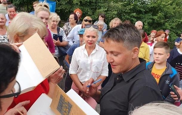 ЗаСавченко проголосовали восемь человек— Выборы вРаду