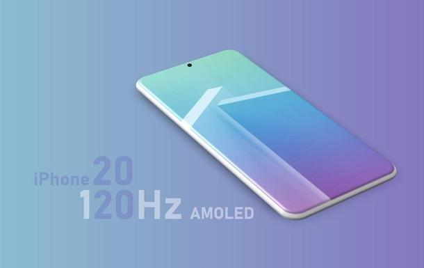 В Сети появились подробности об экране iPhone 2020