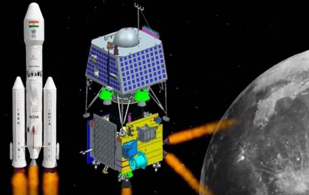 Индийцы запустили к Луне экспедицию Чандраян-2