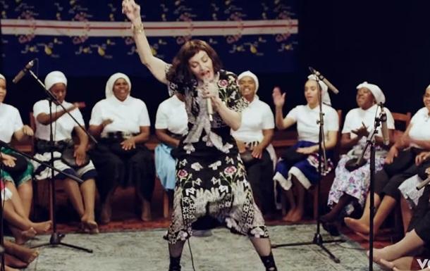 Новый клип Мадонны: видео