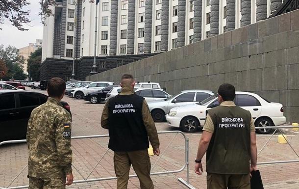 Схеми в оборонці: СБУ проводить обшук в Кабміні