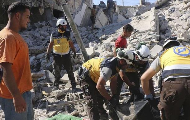 Авіаудари на півночі Сирії забрали життя десятків цивільних