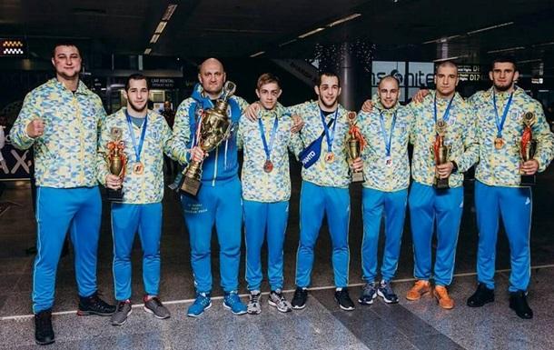 Збірна України виграла чемпіонат світу з бойового самбо