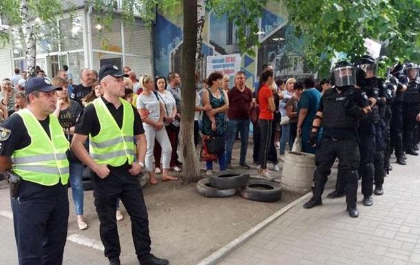Вибори в Раду: у Покровську почалися протести через фальсифікації