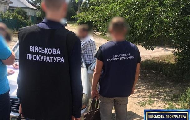 На Чернігівщині начальника митного поста затримано на хабарі