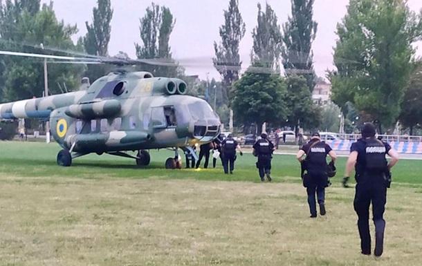 В Донецкую область направили вертолет со спецназом
