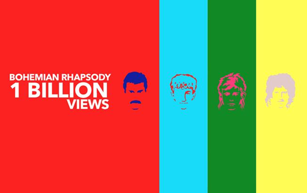 Кліп Queen побив рекорд на YouTube