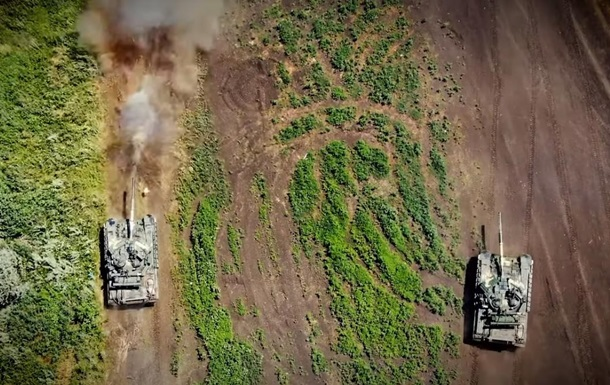 В зоне ООС определили лучший танковый экипаж
