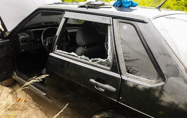 Под Киевом полиция с погоней задержала вооруженного мужчину