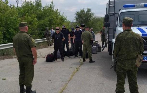 ЛНР  передала Україні 64 ув язнених