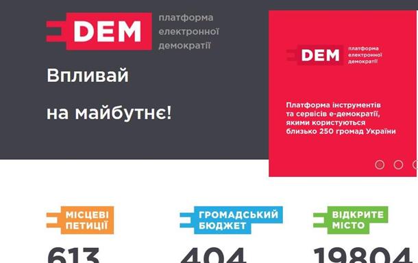 E-DEM: територія  впливу  чи ілюзія демократії?