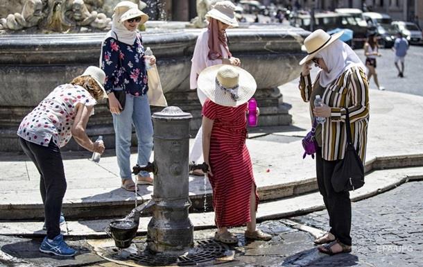Аномальна спека в Європі побила рекорд