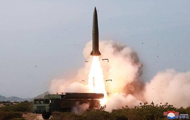 Північна Корея запустила ракету малої дальності