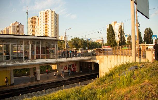 В Киеве возле станции метро нашли труп