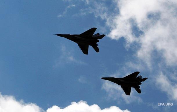 В Каспийском море упал азербайджанский МиГ-29